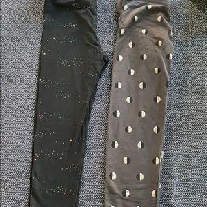 NWOT pair of cat & jack leggings.  Size 7-8